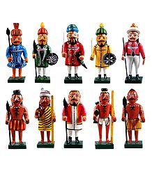 Soldiers of Ancient India - Kondapalli Dolls