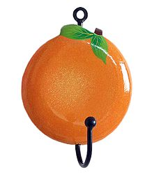 Wooden Orange with Hanger