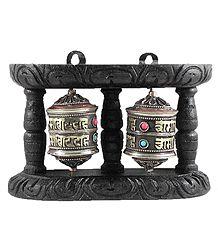 Wooden Prayer Wheel