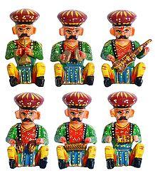 6 Rajasthani Musicians
