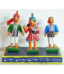 Indian Musicians - Kondapalli Dolls