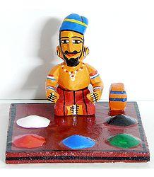 Spice Seller - Kondapalli Doll