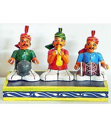 Village Musicians - Kondapalli Dolls