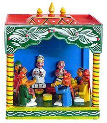 Wedding Scene - Kondapalli Doll