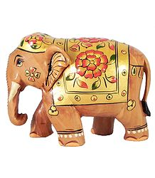 Buy Online Wooden Royal Elephant