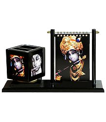 Buy Online Krishna Pen Holder