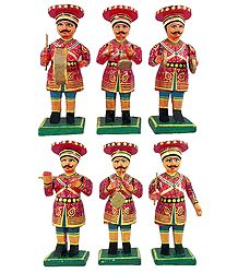 Wooden Rajasthani Band Party - Online Shop