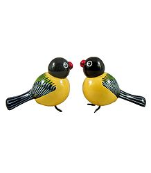 Buy Pair of Wooden Birds