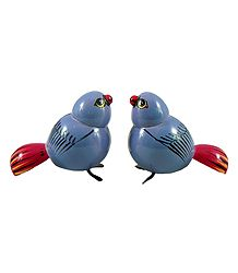 Set of 2 Cute Birds