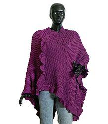 Woolen Poncho - Buy Online