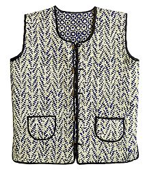 Quilted Reversible Printed Unisex Jacket