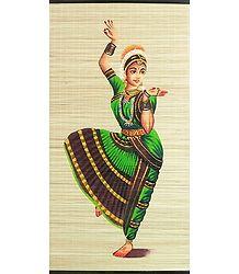 Bharatnatyam Dancer - (Wall Hanging)