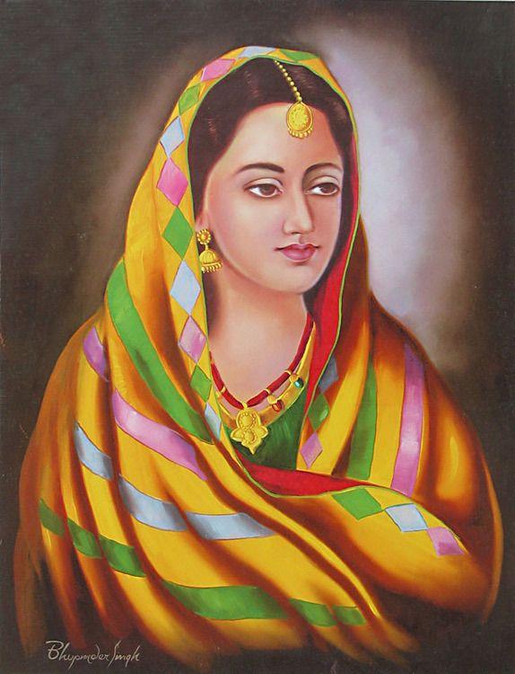Punjabi Woman - Poster-6988