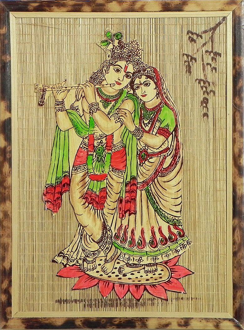 Fine Radha Krishna Wall Decor Ensign - All About Wallart ...