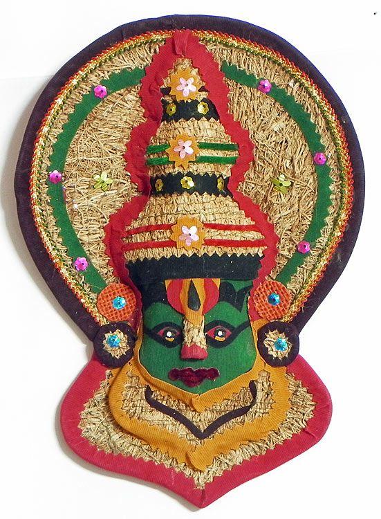 Kathakali Face Wall Hanging