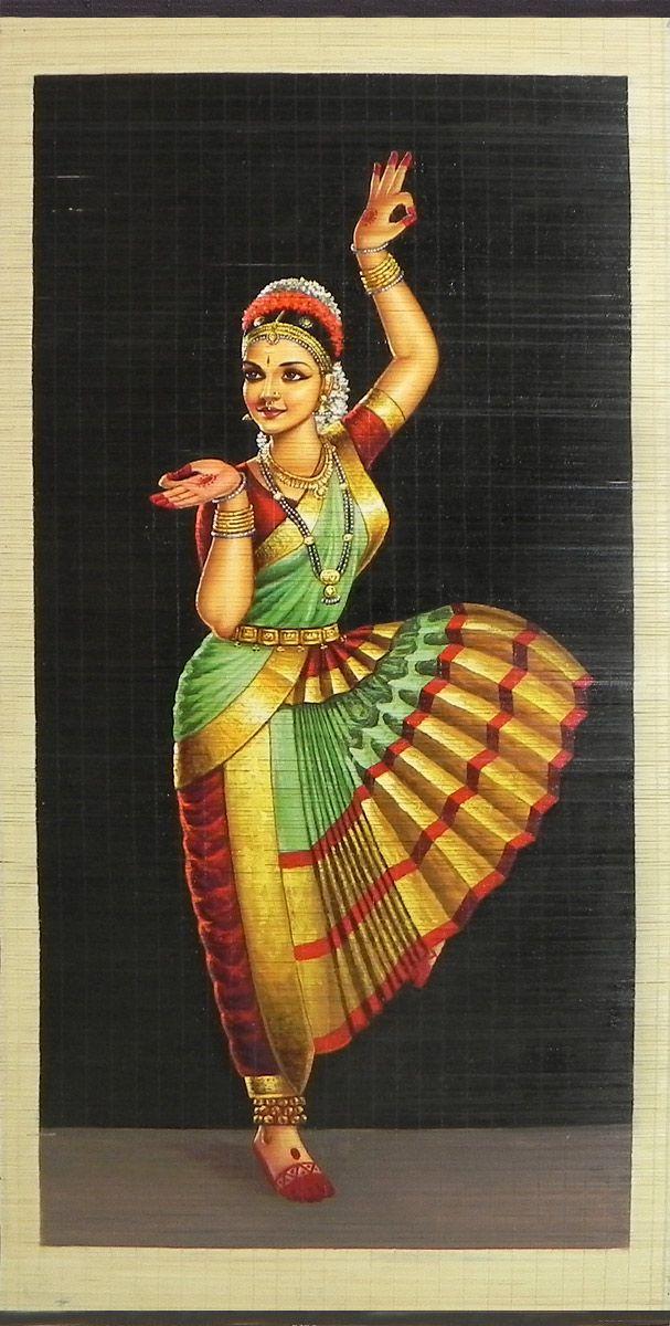 bharatanatyam dance painting - photo #4